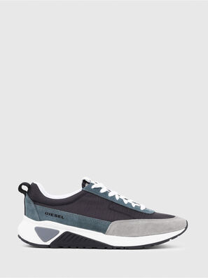 S-KB LOW LACE, Grey/Blue - Sneakers