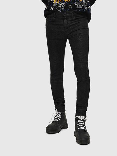 Diesel - D-Reeft JoggJeans 084AG, Black/Dark grey - Jeans - Image 1