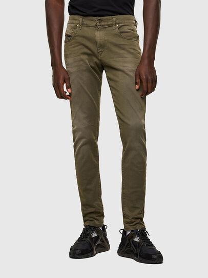 Diesel - D-Strukt JoggJeans® 0670M, Military Green - Jeans - Image 1