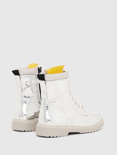 Diesel - HB LACE UP 04 YO, Silver - Footwear - Image 3