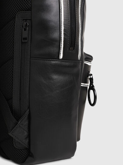 Diesel - ESTE, Black/White - Backpacks - Image 4