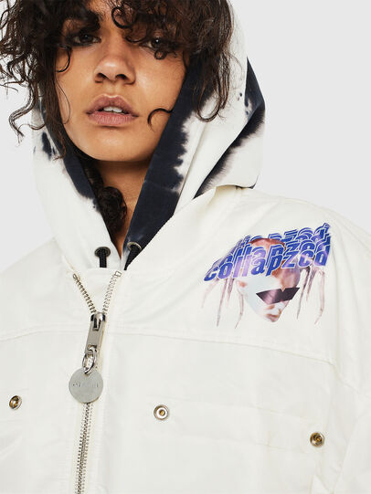 Diesel - G-RAMS, White - Jackets - Image 3