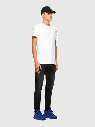 Diesel - T-DIEGOS-N35, White - T-Shirts - Image 4