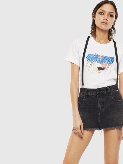 Diesel - T-SILY-S3, White - T-Shirts - Image 4