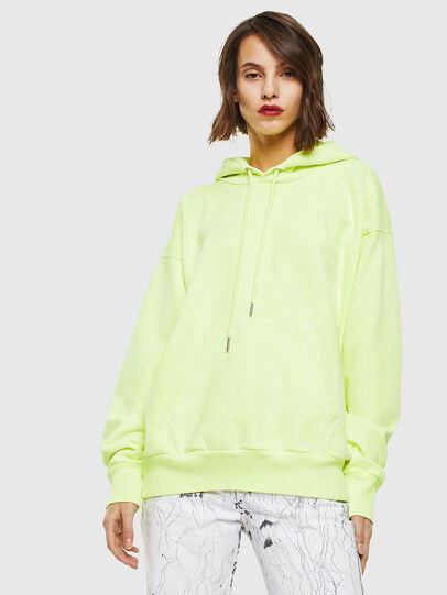 Diesel - S-ALBY-FLUO, Yellow Fluo - Sweaters - Image 2