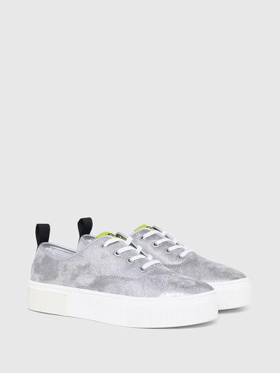 Diesel - S-VANEELA LC, Silver - Sneakers - Image 2