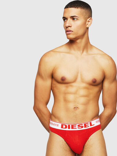 Diesel - UMBR-STRING, Red - Briefs - Image 1
