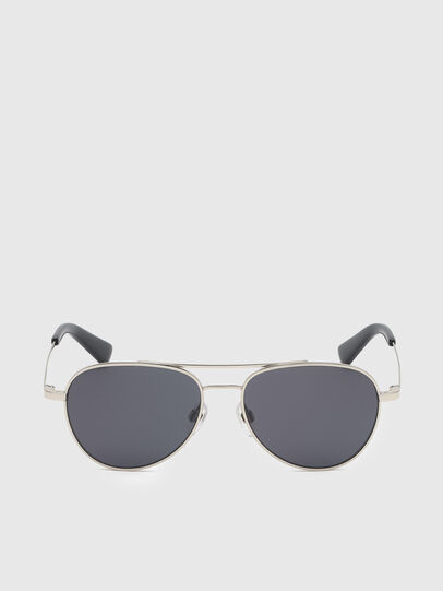 Diesel - DL0291, Silver/Black - Kid Eyewear - Image 1