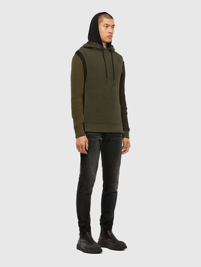 Diesel - K-CAREY, Military Green - Knitwear - Image 5