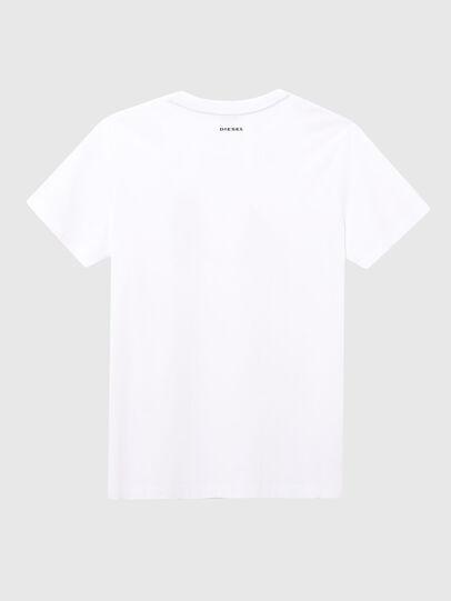 Diesel - UFTEE-ELODIE, White - T-Shirts - Image 2