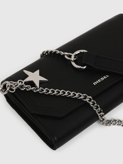 Diesel - GIPSI LC, Black - Small Wallets - Image 5
