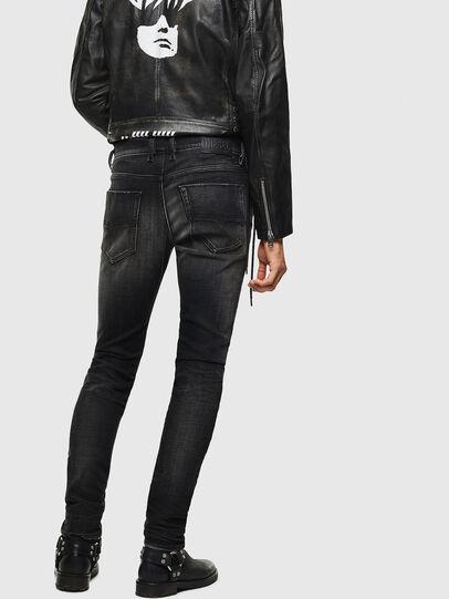 Diesel - Tepphar 0098B, Black/Dark grey - Jeans - Image 2