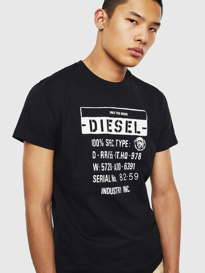 Diesel - T-DIEGO-S1, Black - T-Shirts - Image 3