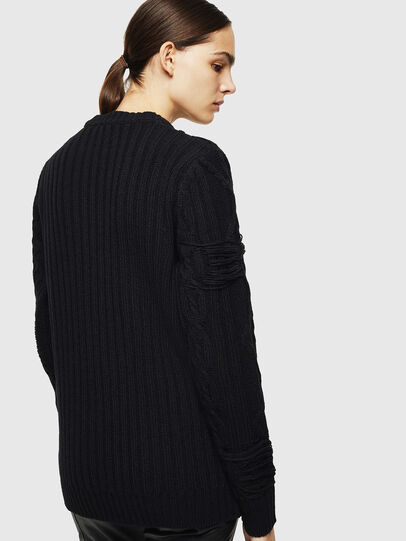 Diesel - K-BRIGLY, Black - Knitwear - Image 4