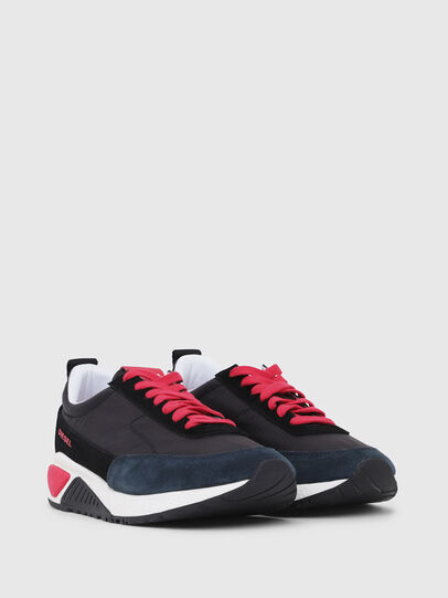 Diesel - S-KB LOW LACE, Black/Red - Sneakers - Image 2