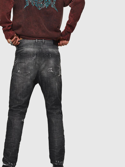 Diesel - D-Vider 083AB, Black/Dark grey - Jeans - Image 2
