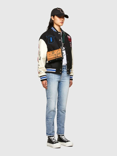 Diesel - CL-L-COHEN-O, Black - Leather jackets - Image 8