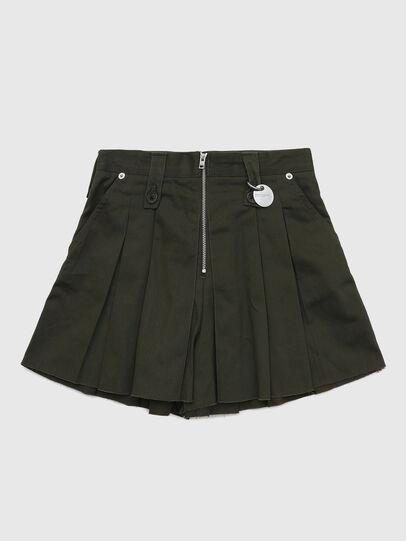 Diesel - PEDEN, Dark Green - Shorts - Image 1