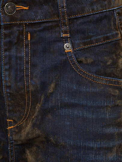 Diesel - Fayza 069RQ, Blue/Yellow - Jeans - Image 4