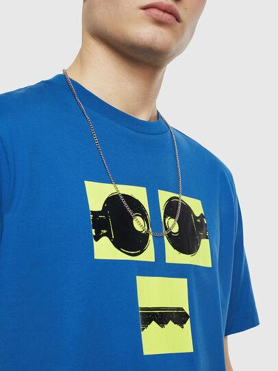 Diesel - T-JUST-T23, Blue - T-Shirts - Image 3