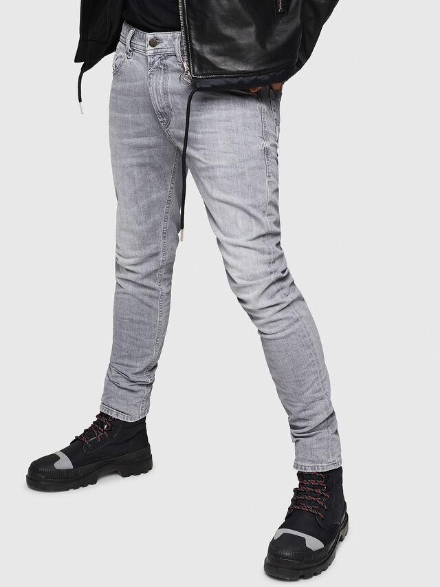 Diesel - Thommer 0890E, Light Grey - Jeans - Image 1