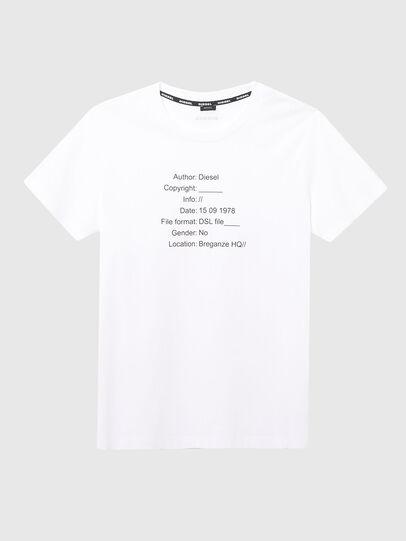 Diesel - UFTEE-ELODIE, White - T-Shirts - Image 1