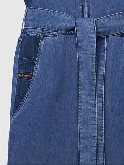 Diesel - DE-LORYNA, Medium blue - Jumpsuits - Image 5