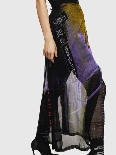 Diesel - O-POPLIA, Black - Skirts - Image 8
