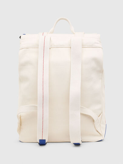 Diesel - VOLPAGO BACK, White - Backpacks - Image 2