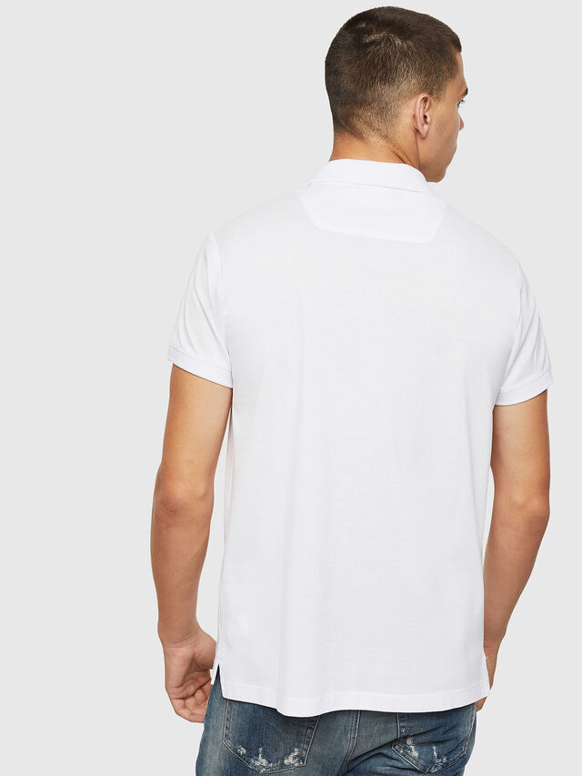 Diesel - T-WEET, White - Polos - Image 2