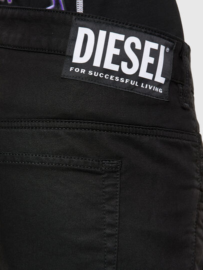 Diesel - Fayza JoggJeans 069NC, Black/Dark grey - Jeans - Image 4