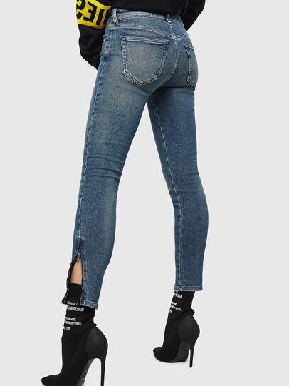 Diesel - Slandy Zip 083AL, Medium blue - Jeans - Image 2
