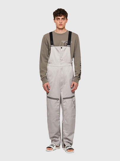 Diesel - P-JUMP-A, Light Grey - Pants - Image 1