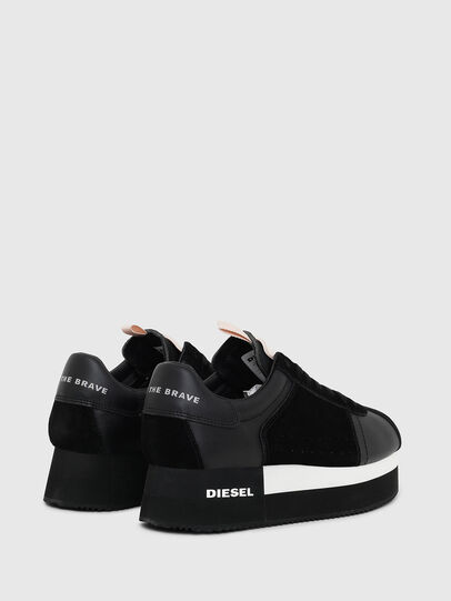Diesel - S-PYAVE WEDGE, Black - Sneakers - Image 3