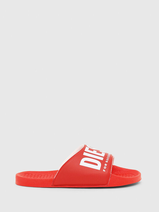 FF 01 SLIPPER CH, Red - Footwear