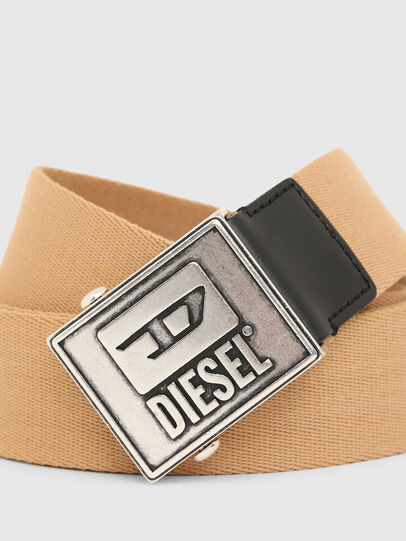 Diesel - B-METALTAPE, Yellow - Belts - Image 2