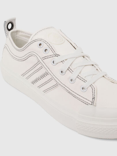 Diesel - S-ASTICO LOW LACE W, White - Sneakers - Image 4