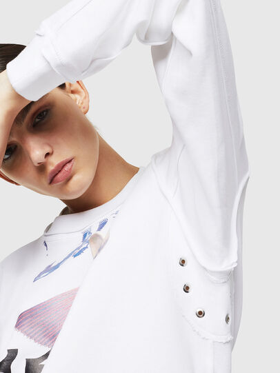 Diesel - F-LYANY-G, White - Sweaters - Image 3