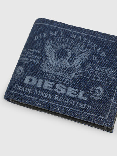 Diesel - HIRESH S, Blue Jeans - Small Wallets - Image 4