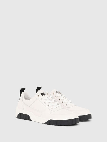Diesel - S-RUA LOW, White - Sneakers - Image 2