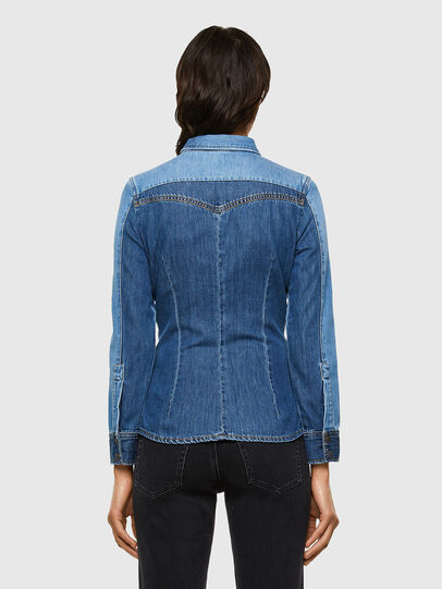 Diesel - DE-MISTY, Medium blue - Denim Shirts - Image 2