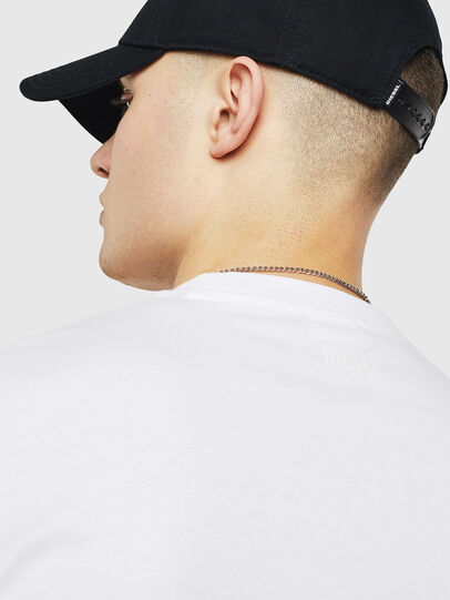 Diesel - T-JUST-T24, White - T-Shirts - Image 3