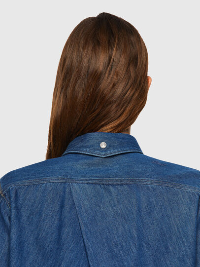 Diesel - DE-BEA-SP, Blue - Denim Shirts - Image 3