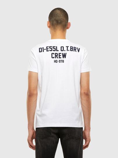 Diesel - T-DIEGOS-N26, White - T-Shirts - Image 2