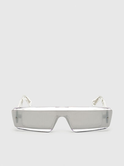 Diesel - DL0318, White - Sunglasses - Image 1
