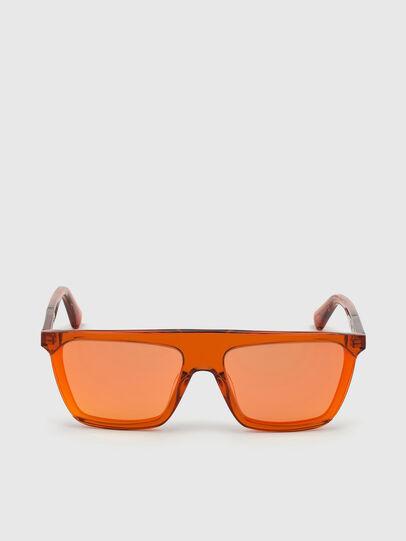 Diesel - DL0323, Orange - Sunglasses - Image 1