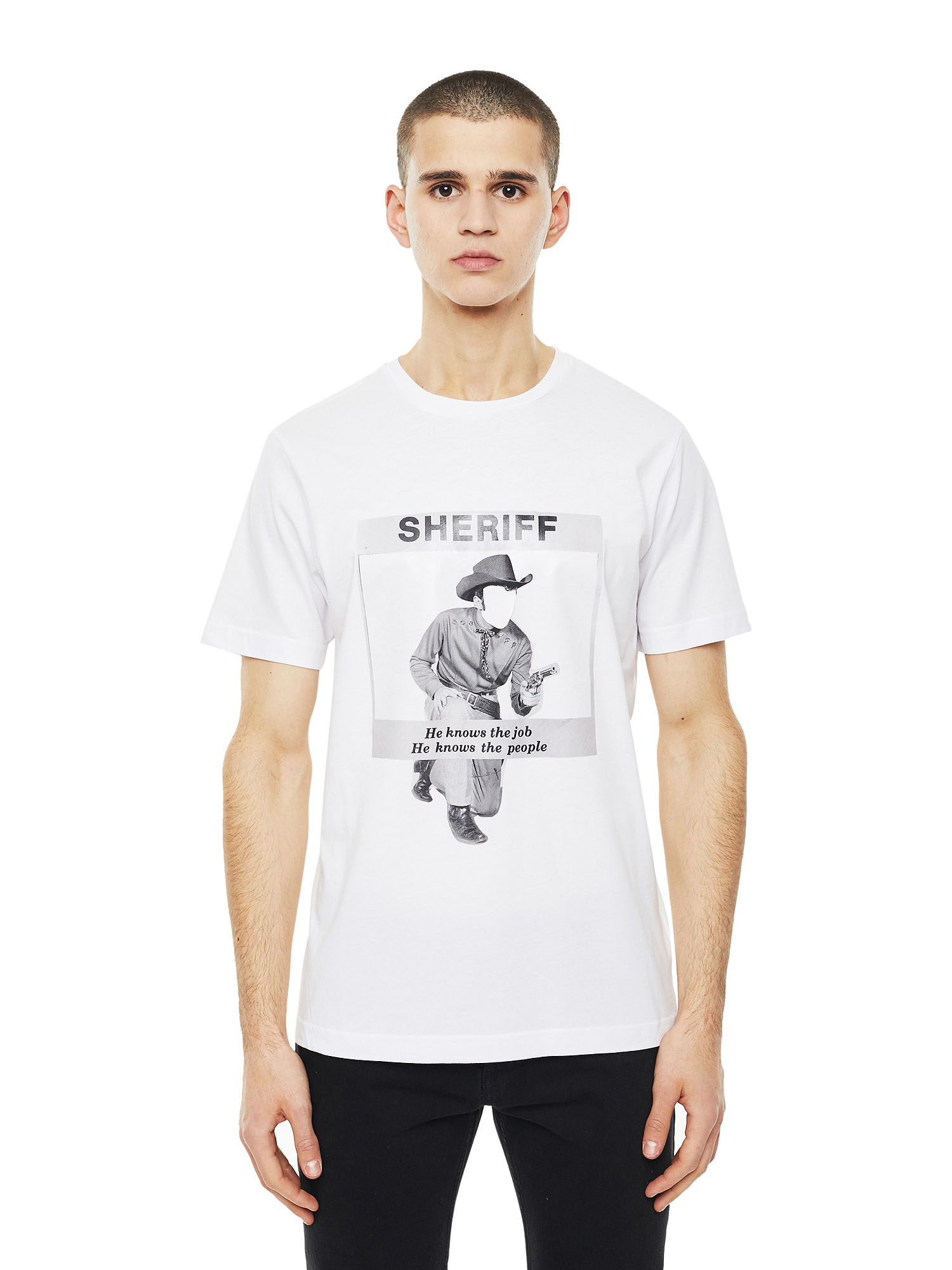 Diesel - TY-BIGSHERIFF,  - T-Shirts - Image 1